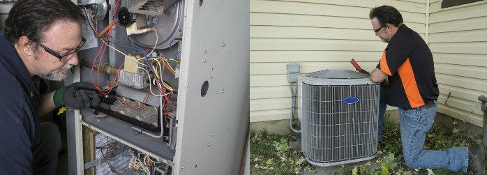 HVAC maintenance service, furnace air conditioner, gas fireplace, hot water heater maintenance, CASATI Heating & Air Conditioning, Brampton