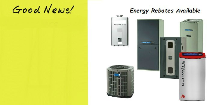 ENERGY REBATES ARE STILL HERE FOR A LIMITED TIME!